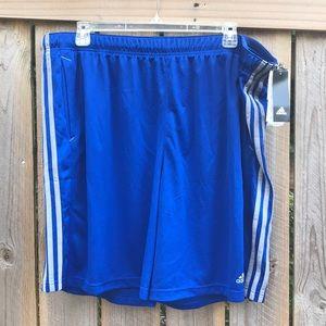 Adidas Royal Blue Gym Shorts